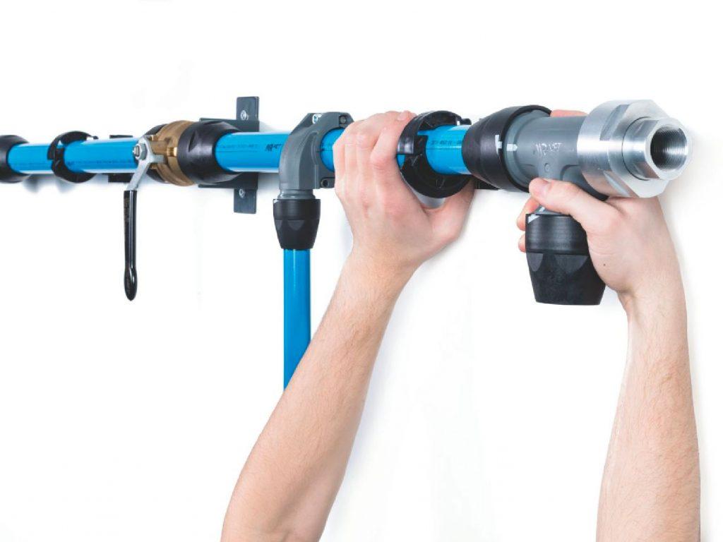 airnet aluminium pipework