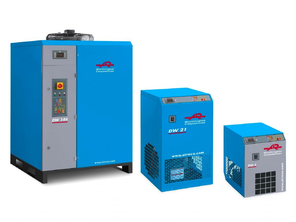 Refrigeration dryers air treatment