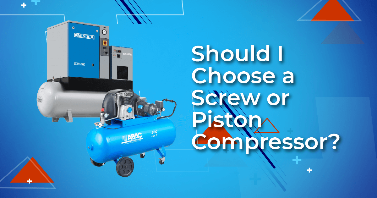 Should I Choose a Screw or Piston Compressor?